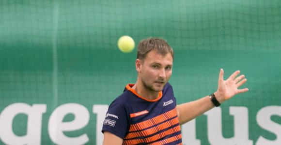 Tarptautiniame ITF teniso turnyre Vilniuje – G.Sabeckio triumfas
