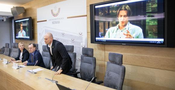 N.Puteikis Seimą stumia tirti jau paneigtus D.Ulvydo žodžius apie D.Grybauskaitę