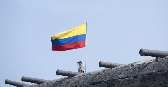 Kolumbijoje per išpuolį nužudyti du politikai ir dar keturi žmonės
