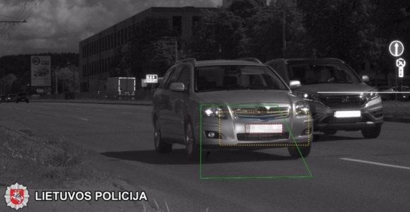 """Vilniaus apskrities policija masiškai gaudė ir """"greituolius"""", ir """"plepius"""""""