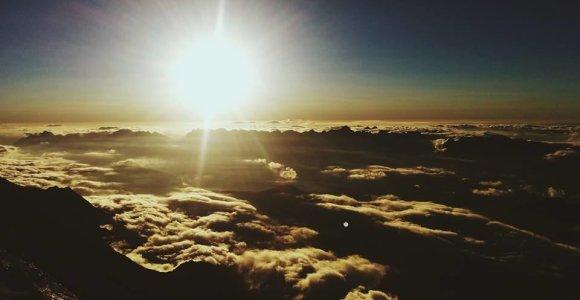 Monblano dienoraščiai: gelbėjimo sraigtasparniai kyla kartu su saule