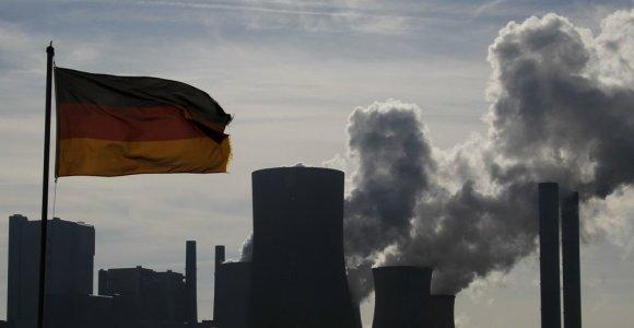 Vokietijoje investuotojų pasitikėjimas pasiekė aukščiausią lygį per ketverius metus
