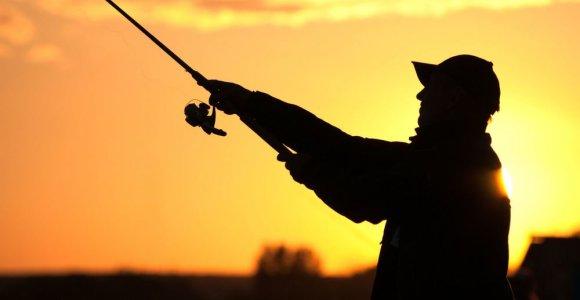 Sulaikytas Kauno mariose nelegaliai žvejojęs vyras