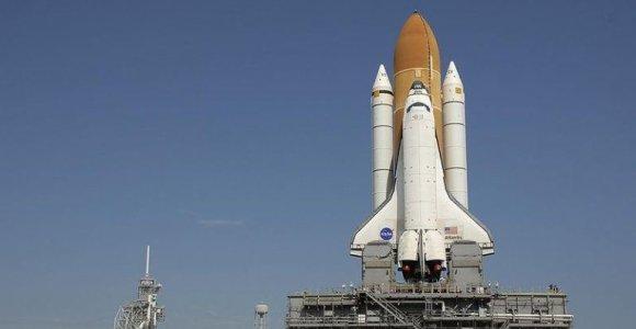NASA raketų transporteriai – žadą atimančios mašinos su 19 tūkst. litrų dyzelino bake