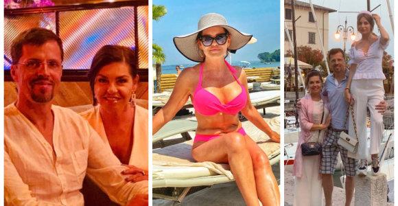 """54-erių Kristina Kaikarienė Italijoje pademonstravo pavydėtiną figūrą: """"Renkuosi salotas, ne cepelinus"""""""