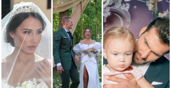 Savaitgalio atgarsiai: vestuvės Kaune ir Jakiškių dvare, gimtadienis Maskvoje ir staigmena lėktuve