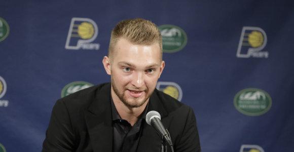 Domanto Sabonio kelyje į Lietuvos rinktinę – (ne)pramušama NBA užkarda