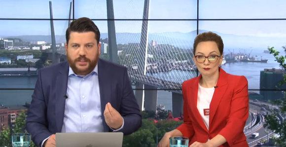 Sulaikytas Rusijos opozicijos lyderio A.Navalno bendražygis