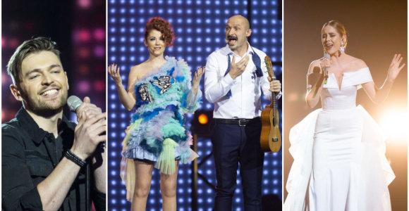 """Prisiminkime visus patekusius į """"Eurovizijos"""" pusfinalį: kas vertas pasirodyti konkurso finale?"""