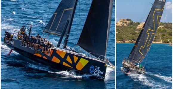"""""""Ambersail2"""" daužėsi į povandenines uolas Sardinijoje: po smūgio pažeistas kilis"""