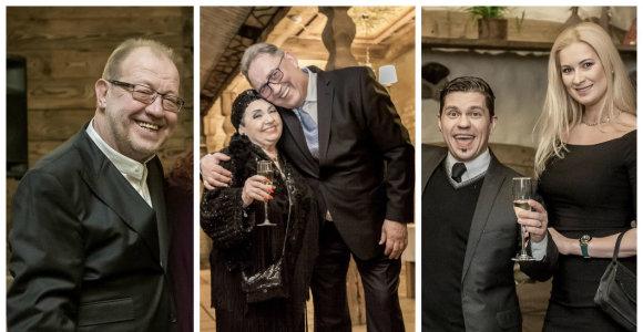 M.Subelis 60-mečio jubiliejų atšventė garsių draugų rate: sveikino ir R.Šilanskas