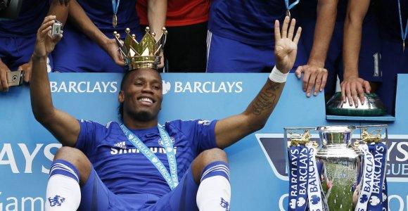 "Karjerą baigia ""Chelsea"" legenda Didier Drogba"