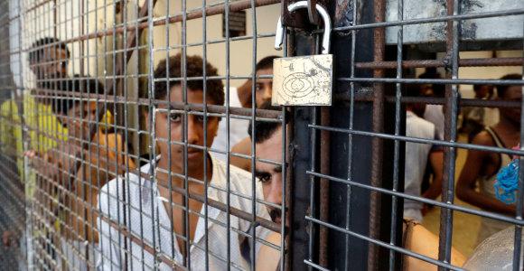 Libijos pakrančių apsaugos tarnyba išgelbėjo beveik 150 į Europą plaukusių migrantų