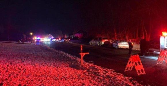 Pensilvanijoje sudužus sraigtasparniui žuvo du žmonės