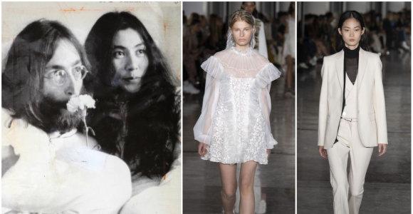 """Vienas iš """"Giambattista Valli"""" kolekcijos įkvėpimo šaltinių – ir Yoko Ono"""