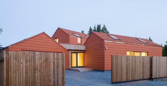 Nepaliks abejingų: lietuviai sukūrė į akį krentantį, išskirtinį namą Pavilnyje