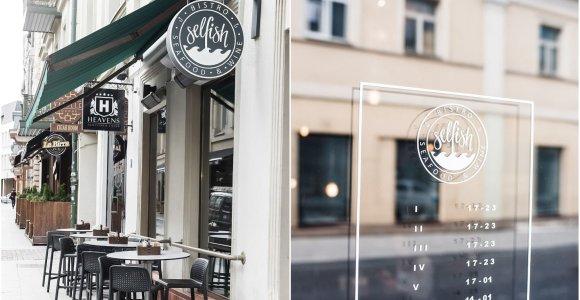 """30 geriausių restoranų. 23 vieta: geriausias žuvies ir jūros gėrybių restoranas Lietuvoje – """"Selfish"""""""