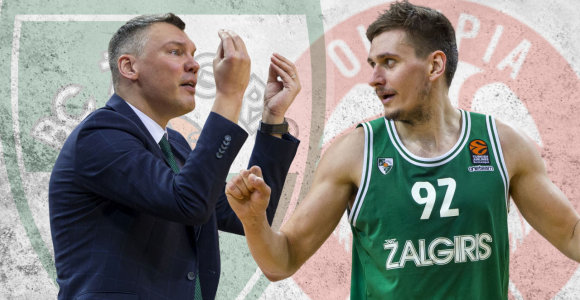 """""""Karštom pėdom"""": dramatiška """"Žalgirio"""" pergalė ir Š.Jasikevičiaus pastabos"""