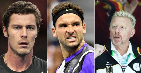 Tarp ATP taurės kapitonų – legendos, tėvai ir patys tenisininkai