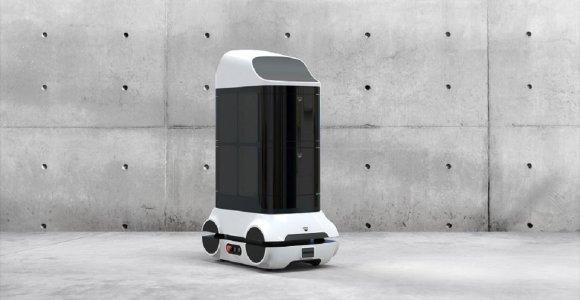 Lietuviai kuria unikalų pasaulyje dezinfekcinį robotą kovai su COVID-19