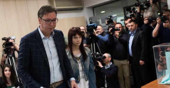 Serbijos prezidentas paguldytas į ligoninę