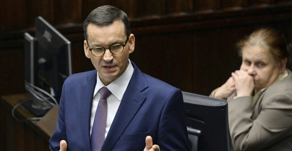 Lenkijoje po EP rinkimų pertvarkytas ministrų kabinetas