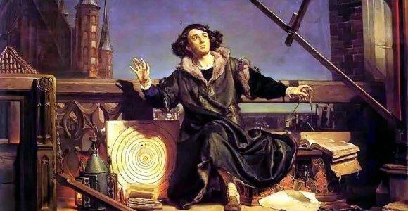 Kaip Mikalojus Kopernikas astronomijos mokslą aukštyn kojomis apvertė