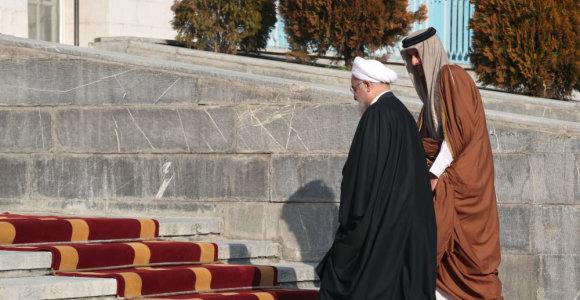 Kataro šeichas: Kataras ir Iranas sutinka, kad reikia imtis įtampos deeskalavimo