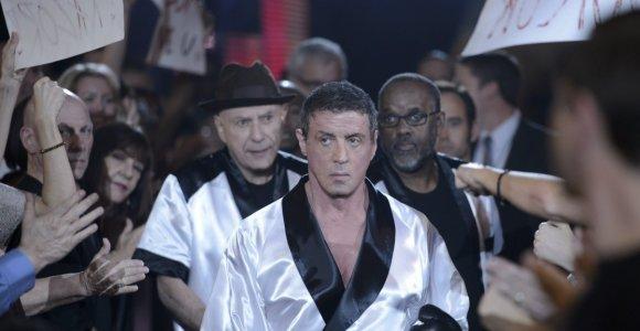"""Filme """"Didžioji kova"""" į bokso ringą grįžęs Sylvesteris Stallone: """"Jei kas būtų pasakęs, kad boksuosiuos 67-erių, nebūčiau patikėjęs"""""""