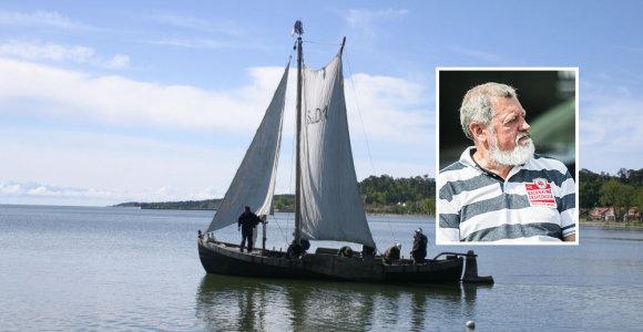 """Laivą valdys kapitono sūnus: """"namu"""" vadintas ir tragedijos ištiktas kurėnas plauks vėl"""