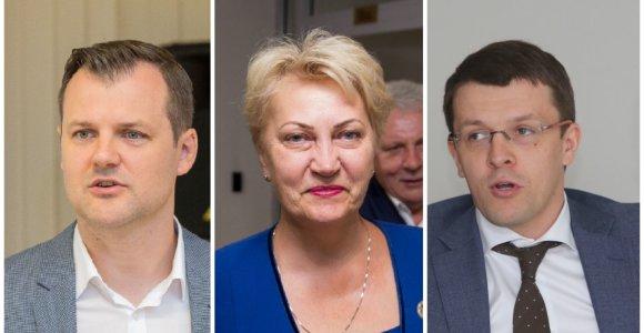 LSDP kandidatą į Vilniaus merus rinksis iš vieno kandidato