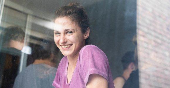 Aktorė Indrė Patkauskaitė: Noriu, kad iš filmo žmonės išsineštų begalinį norą gyventi