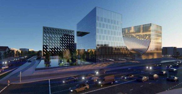 Vilniaus valdžia išdavė statybos leidimą teismų pastatui