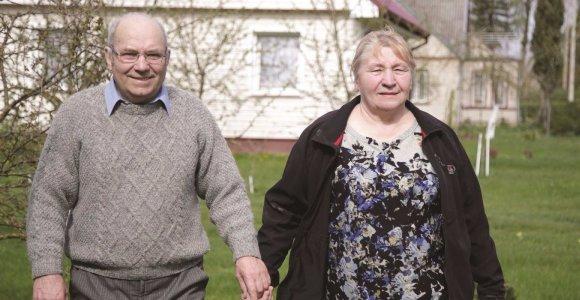 Daugiau kaip 50 metų kartu: šokių partnerė tapo auksine žmona visam gyvenimui