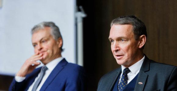 Kandidatai G.Nausėda ir A.Juozaitis susitarė: švietimo ministrą turėtų rinktis prezidentas