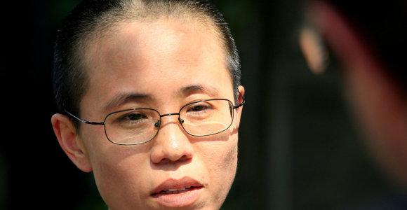 Nobelio premijos laureato disidento Liu Xiaobo našlė išvyko iš Kinijos į Europą