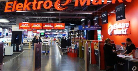 """""""Elektromarkt"""" tinklą nupirkusi """"Avitela"""" išlaikys atskirą prekės ženklą"""