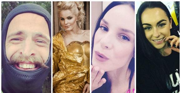 Pramogų pasaulio atstovai Naujųjų proga gerbėjams linkėjimus siuntė feisbuke ir instagrame