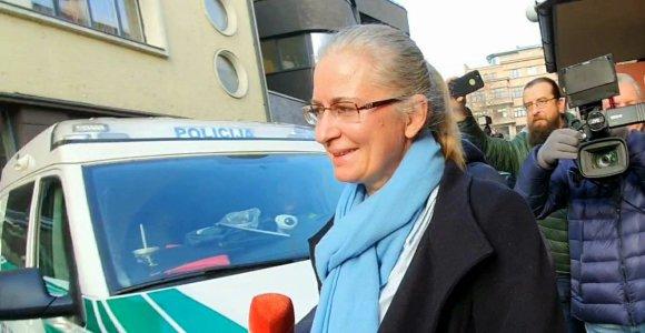 N.Venckienė prašo didinti atstumą, kurį jai leidžiama nutolti nuo namų