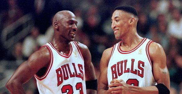 M.Jordano simbolinis penketas: legenda išsirinko idealiausius partnerius