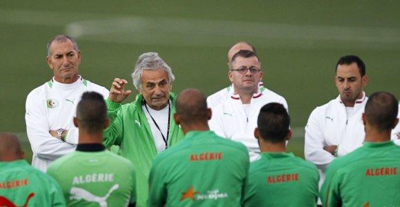 Alžyro rinktinė iškovojo penktąjį Afrikai skirtą kelialapį į pasaulio futbolo čempionatą Brazilijoje