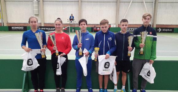Baigiamajame sezono jaunųjų Lietuvos tenisininkų turnyre – šiauliečių dominavimas