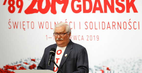 Lechas Walesa: Amerika prarado politinę ir moralinę lyderystę pasaulyje