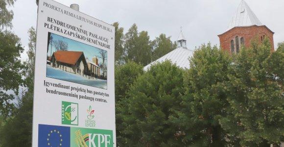 Vietoj šarvojimo salės Zapyškyje iškils bendruomenės namai: atsieis 225 tūkst. eurų