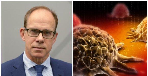Garsus onkologas R.Thomasas pasidalijo 30 metų patirtimi: kokia mityba ir fizinė veikla padeda kovoti su vėžiu?