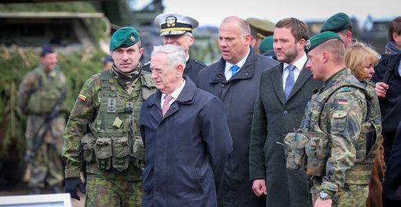 BNS klausia ekspertų: ar Jameso Mattiso pasitraukimas yra pavojingas Lietuvai?