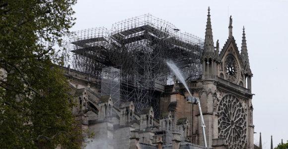 Paryžiaus Dievo Motinos katedrą padės atstatyti Kinijos ekspertai