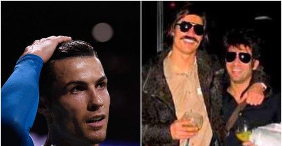 Cristiano Ronaldo geriausias vakaras – tas, per kurį jo niekas neatpažino