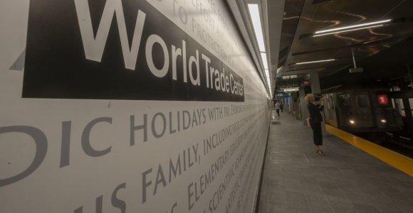 Praėjus 17-ai metų Niujorke vėl atidaryta per rugsėjo 11-osios atakas sugriauta metro stotis