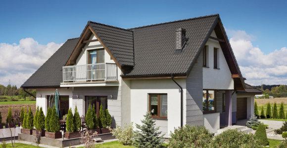 Namų stogus vis dažniau dengia betoninės čerpės: kodėl ši danga tokia populiari?